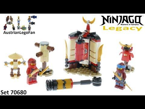 Vidéo LEGO Ninjago 70680 : L'entraînement au monastère