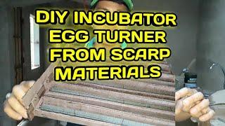 DIY EGG TURNER FOR INCUBATOR