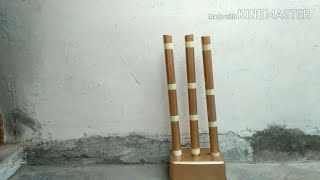 How To Make Cricket Stumps At Home? | Harshit Nashine