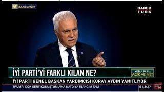 Koray Aydın - Habertürk Tv Kübra Par ile Açık ve Net 12 Temmuz 2018