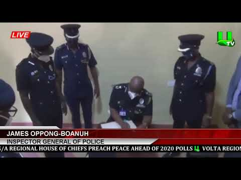Yamfo, Ahafo Region: 2020 Polls Will Be Peaceful   -   IGP Assures