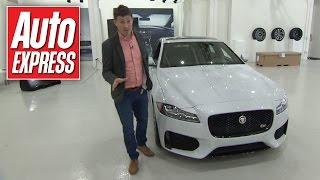 Jaguar XF 2015 First Look