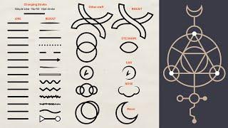 How To Use Illustrator Stroke For Illustrations - Sacred Geometry