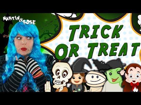 Halloween Song for Preschoolers and Homeschooled Kids | Knock Knock, Trick or Treat!