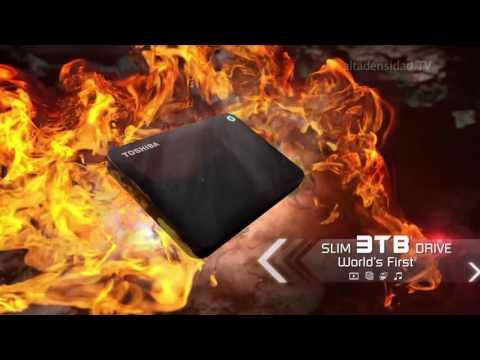 3 TB en 2,5 pulgadas es el nuevo record de Toshiba en discos duros externos
