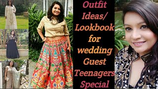 What To Wear To An Indian Wedding | Indian Wedding Guest Outfit Ideas/Lookbook | #ShaadiSaga Part 1|