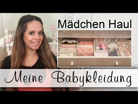 Babyhaul Kleidung / Mädchen / Erstausstattung