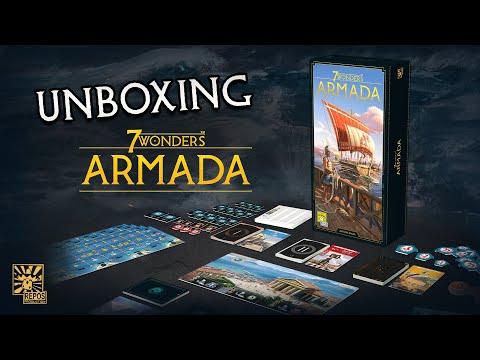 Spieletrailer 7 Wonders - Armada - Vorschaubild