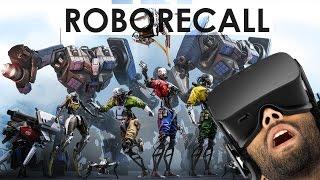 Roborecall VR Oculus Touch