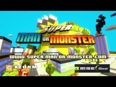 Super Man Or Monster - Gameplay Trailer Update thumbnail