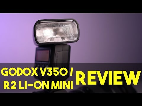 Godox V350 Review   Flashpoint Zoom R2 Mini   The Mini Flash gets a Lithium Upgrade