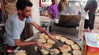 BHAI JAAN PARATHA | street food of karachi pakistan