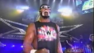 Randy Savage challenges anybody - WCW Monday Nitro - 7/12/99