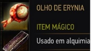 Olho De Erynia - Óleo Híbrido Superior - The Witcher 3