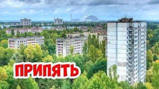 На крыше дома в Припяти. Чернобыльская зона отчуждения