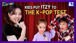 (CC) 🔥K-pop Battle: ITZY vs. Kids | IT'z PLAYTIME EP.02