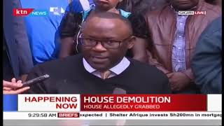 Westlands MP Timothy Wanyonyi on 'grabbed' house demolished in Gigiri