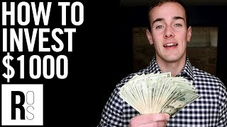 HOW TO INVEST $1,000 💸 6 Ways To Invest Your First 1000 Dollars!