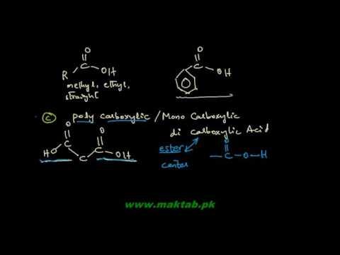 FSc Chemistry Book2, CH 13, LEC 1: Introduction and Nomenclature