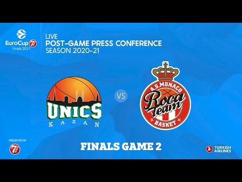 7DAYS EuroCup Finals Game 2, Post-game Press conference