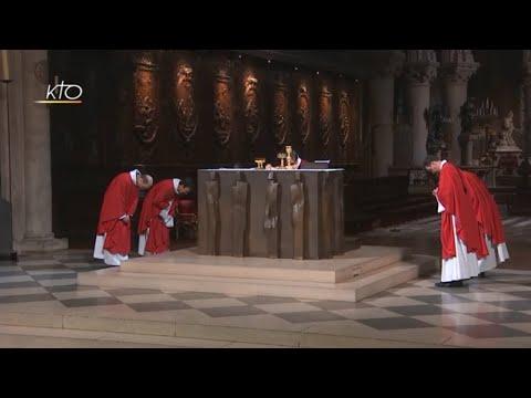 Messe du 1er juin 2018