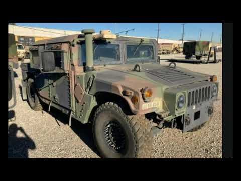 Military Humvee Stolen from National Guard Base In California, FBI Offers Reward