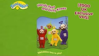 Teletubbies - Hands, Feet and Dirty Knees (2000 UK VHS)