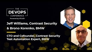 The DEVOPS Conference How BMW Shifted Application Security Left to Lower Cost While