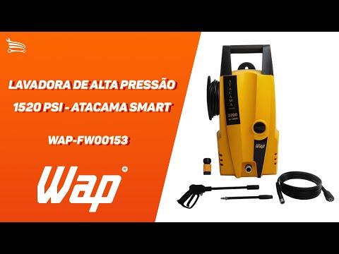 Lavadora de Alta Pressão 1520 PSI  - Atacama Smart  - Video