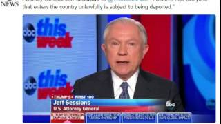 Jeff Sessions on Undocumented Immigrants