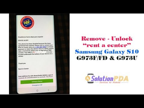 Samsung RENT A CENTER / AARONS LOCK REMOVAL SERVICES - смотреть