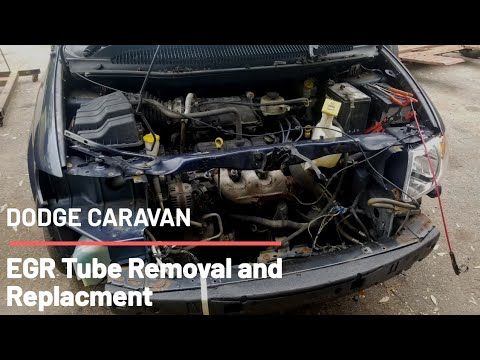 Dodge Caravan Chrysler town and country/ 3 3/3 8 EGR removal how to