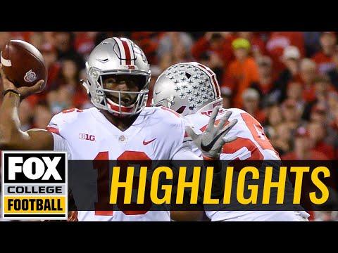 Ohio State vs Nebraska  Highlights   FOX COLLEGE FOOTBALL