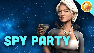 TRUE LOVE NEVER DIES! Spy Party Funny Moments (w/ Chilled Chaos)