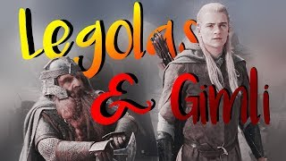 ✘ Legolas And Gimli Being An Iconic Duo For 4 Minutes Straight