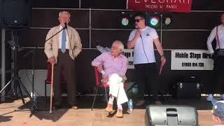 Mr. Waclaw Szkoda at Polish Heritage Day in Evesham