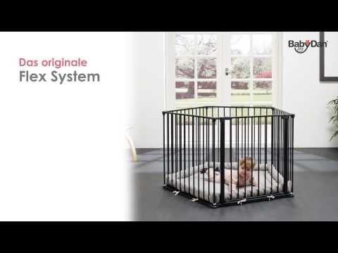 Baby Dan Flex Laufstall Deutsch