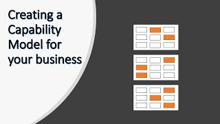 Identifying the capabilities and Creating a Capability Model for your business
