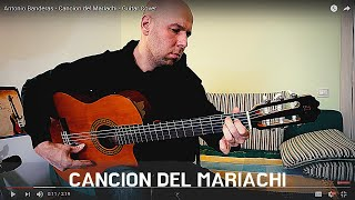 Desperado  Antonio Banderas  Cancion Del Mariachi  Fingerstyle Guitar