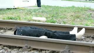 Zrážka vlaku s chodcami