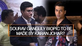 SOURAV GANGULY BIOPIC TO BE MADE BY KARAN JOHAR?