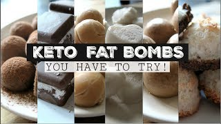 KETO FAT BOMBS You HAVE TO TRY!