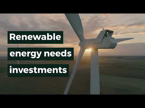 RENEWABLE ENERGY NEEDS INVESTMENTS
