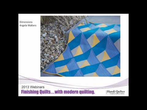 HQ Shows You How Webinar March 2013 - Modern Quilts