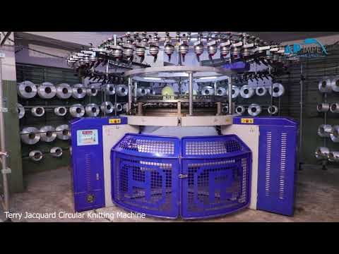 High Speed Terry Jacquard Circular Knitting Machine