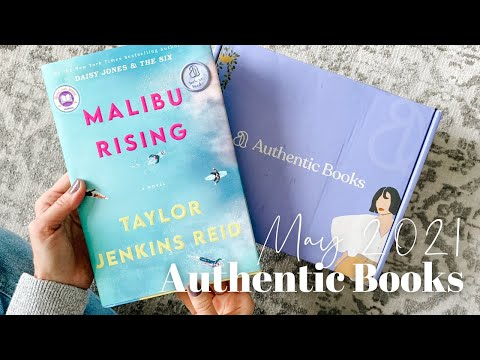 Authentic Books Unboxing May 2021
