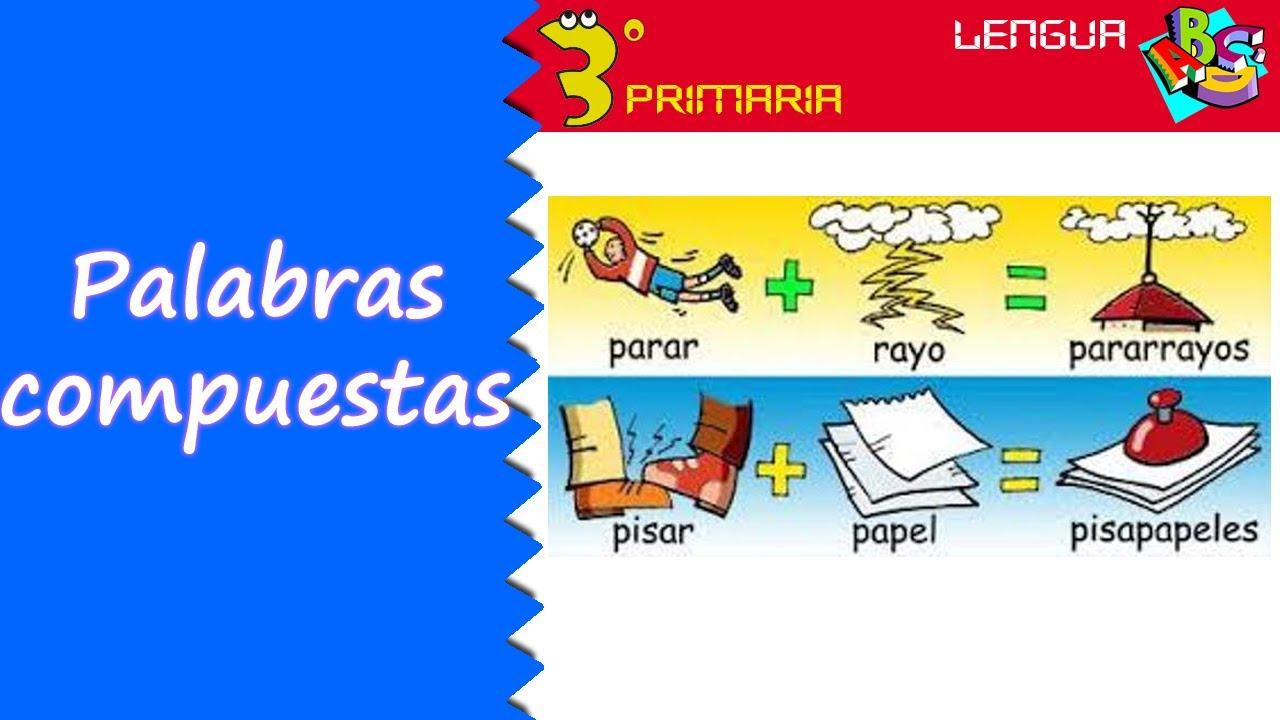 Lengua Castellana. 3º Primaria. Tema 11. Las palabras compuestas