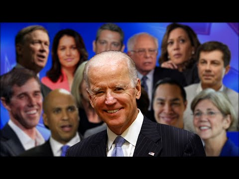 Former Vice President Joe Biden formally joined the crowded Democratic 2020 presidential field Thursday, marking what will likely be the 76-year-old's final opportunity to seek a job he has eyed for more than a generation. (April 25)