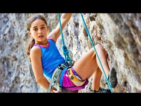 11letá horolezkyně Brooke Raboutou