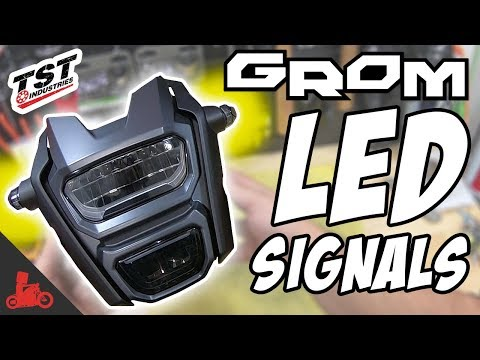 How To: Honda Grom LED Flush Mount Turn Signals